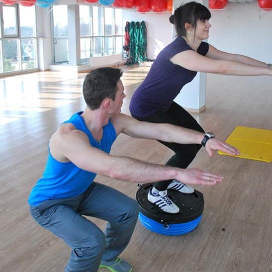 fizjoterapia trening z dobry trener