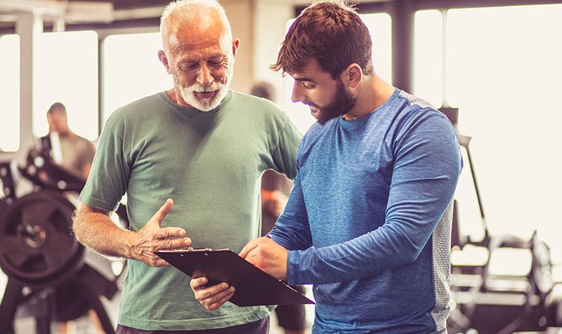 Trening osób starszych - seniorów