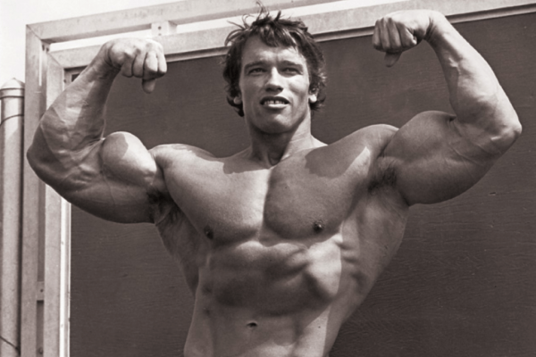 arnold trening superserie